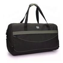 Bolsa sacola de viagem media denlex sa-0018 preta -