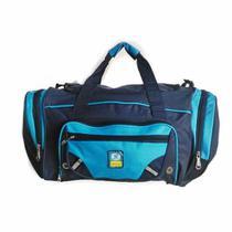"""Bolsa Sacola de Viagem tam.20"""" Azul YS1036 Yins -"""