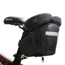 Bolsa  Selim Para Bicicleta Porta Objetos C/ Faixa Refletiva - Fierre