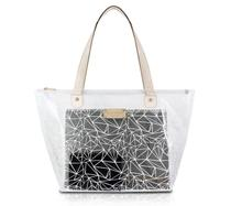 Bolsa Shopper Transparente CRYSTAL Jacki Design BRANCO