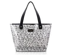 Bolsa Shopper Transparente CRYSTAL Jacki Design PRETO