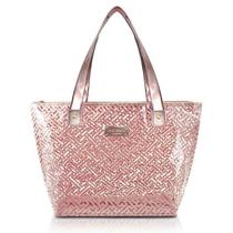 Bolsa Shopper Transparente Jacki Design - Rosa