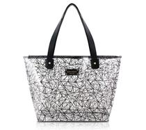 Bolsa Shopper Transparente Preto Jacki Design