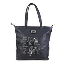 Bolsa Snoopy Shopper Bag Grande Feminina -