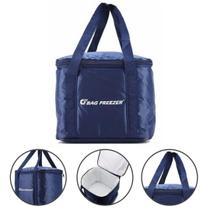 Bolsa Térmica 10 Litros Bag Freezer Para Lanches e Bebidas Praia -