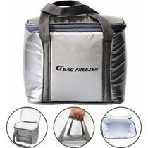 Bolsa Térmica 10 Litros Bag Freezer Praia Viagem Camping -