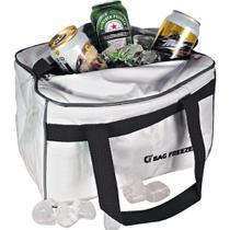 Bolsa Térmica 14l Bag Freezer 100 Cotérmico Branca - Cotermico