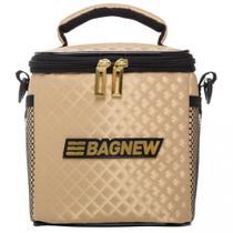 Bolsa Térmica 2 Potes - Dourada Style Fashion - Bag New -