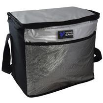 Bolsa termica 24 litros portatil ice cooler frasqueira dobravel com alca para refeicao churrasco - GIMP