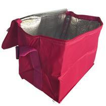 Bolsa Térmica Belfix com Capacidade para 24 Latas em Poliéster Rosa -
