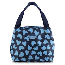 Bolsa Termica Bem Estar Azul Jacki Design Alça de Mão -