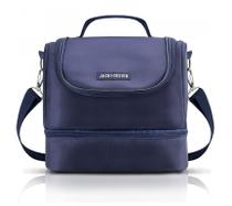 Bolsa termica c/ 2 compartimentos - For men azul - Jacki design