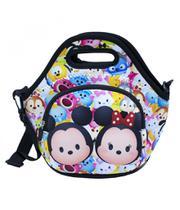 Bolsa Térmica Colorida Mickey Minnie Tsumtsum - Mickey  Minnie