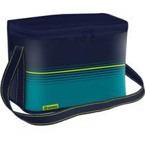 Bolsa Térmica Cooler 30 Litros Soprano Dobrável a Melhor Azul -