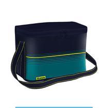 Bolsa Térmica Cooler 9,5 Litros Praia Camping - Soprano Azul -