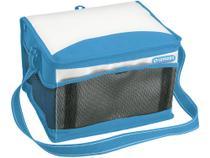 Bolsa Térmica Dobrável 20L Azul com Bolso Lateral  - Soprano Tropical