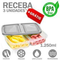 Bolsa Térmica Fitness Compacta Marmita Preta Lancheira Academia - Everbags