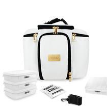 Bolsa Térmica Fitness Premium Couro Branco G - Dagg