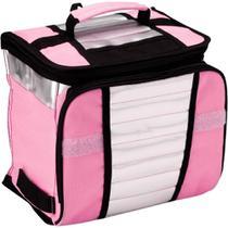 Bolsa Térmica Ice Cooler 7,5 Litros Rosa MOR -