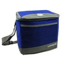 Bolsa Térmica Ice Cooler Fitness Marmita 14L Unitermi Azul -