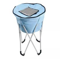 Bolsa Termica Ice Cooler Mor 32 Litros C/ Pedestal Azul 3620 - Met. Mor