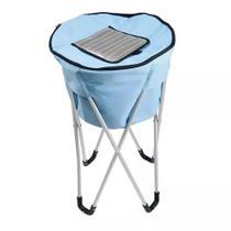 Bolsa Termica Ice Cooler Mor 32 Litros C Pedestal Azul - Met. Mor