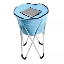 Bolsa Térmica Ice Cooler Pedestal 32 Litros Azul - Mor