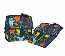 Bolsa térmica lancheira bag mini monsters packit