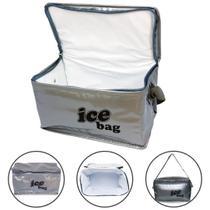 Bolsa Termica Pequena 3 Litros Marmita Alimento Fitness - Bag freezer
