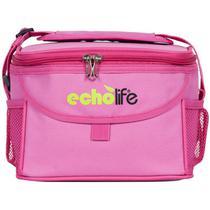 Bolsa térmica rosa 5 litros echolife -