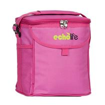 Bolsa térmica rosa 9 litros echolife -