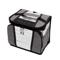 Bolsa Térmica Sacola Ice Cooler 7,5 litros com alça Mor Cinza/Chumbo -