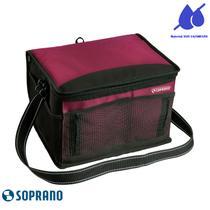 Bolsa Térmica Tropical 12 Litros Soprano Vermelha -