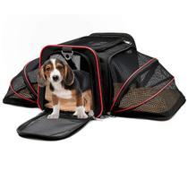 Bolsa Transpote para Pet Expnsível Viagem vermelha - Itsi Peti
