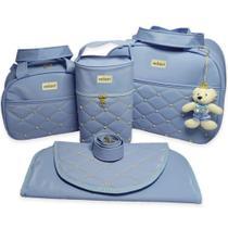 Bolsas de Maternidade Pérola 4 Peças Térmico Impermeável - Milori Baby
