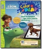 Bom dinossauro, o - disney color and play - 4a ed - Coquetel