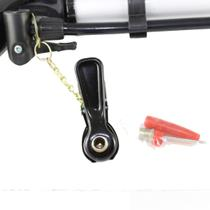 Bomba De Ar Bicicleta Alumínio Pneu Bola Com Suporte E Bicos - Toprio