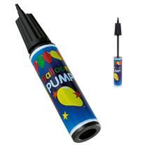 Bomba de ar manual para inflar bexigas/ balões leve e pratica - Wellmix