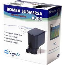 Bomba para Aquário Submersa A300 Vigo Ar 110v - Vigoar