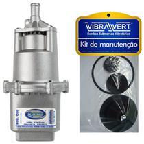 Bomba Submersa De Poço Sapo + KIT DE MANUTENÇÃO Rymer 1500 220V - Vibra Vert