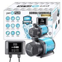 Bomba Submersa Eletrônica Controle Digital Pet Flix 3500L/h -
