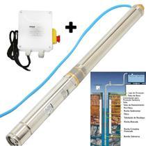 Bomba Submersa Tipo Caneta Para Poço Semi Artesiano 1,0cv Com Painel - Schuz - 16006011 - Schulz