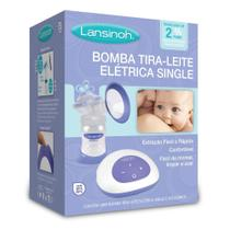 Bomba Tira-Leite Elétrica Single Lansinoh - SEBP -