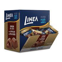 Bombom ao Leite  com Mousse de Chocolate Sem Açúcar Caixa com 12 un de 11g - Linea