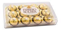 Bombom Ferrero Rocher Avelã Caixa com 12 Un 150 gr -