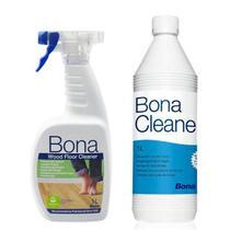 Bona - kit cleaner concentrado 1lt + cleaner spray pronto uso 1lt -