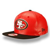 Bone 950 original fit san francisco 49ers nfl aba reta strapback vermelho new era