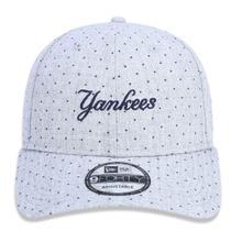5e992562e1 Boné Aba Curva Cinza 940 New York Yankees MLB - New Era