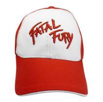 Boné Bordado em Alto Relevo Aba Curva Fatal Fury - Authentic