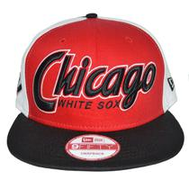 Boné New Era Aba Reta 950 Snapback Mlb Chicago White Sox